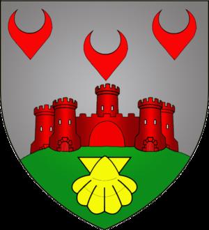Bourscheid, Luxembourg - Image: Coat of arms bourscheid luxbrg