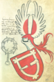 Coat of arms of Heinze Koppe of Zedlitz with Ruedenband.png