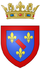 Coat of arms of the Prince of Conti.png