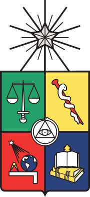Coat of arms of the University of Chile.svg