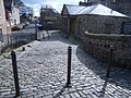 Cobbled street and bollards - geograph.org.uk - 741487.jpg