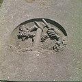 Collectie Nationaal Museum van Wereldculturen TM-20029797 Relief op een grafsteen op de oude Joodse begraafplaats Beth Haim Curacao Boy Lawson (Fotograaf).jpg