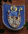 CollegiumNovum-HerbUniwersytetuJagiellońskiego(Tradycyjny)-POL, Kraków.jpg