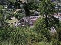 Colmars - Vue supérieure de la porte de Savoie avec sa barbacane.JPG