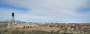 Columbus, New Mexico - View of Columbus from Pancho Villa State Park