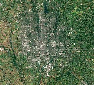 Geography of Columbus, Ohio
