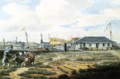 Commodore's House in the Naval Yard, Kingston, Upper Canada, July 1815.png