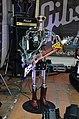 Compressorhead - Fingers on Gibson Flying V - Musikmesse Frankfurt 2013.jpg