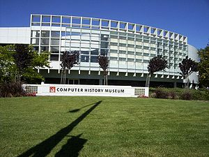 The Computer History Museum in Mountain View, CA.
