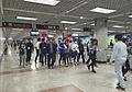 Concourse for L1 of Dawanglu Station (20160428185556).jpg