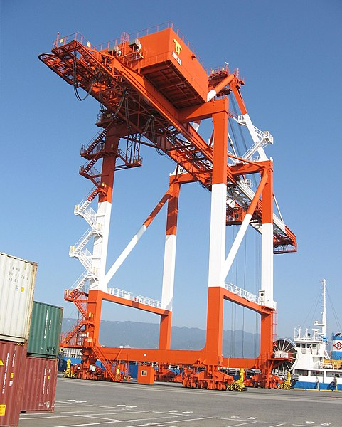 File:Container handling 6204 【 Pictures taken in Japan 】.jpg