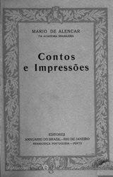 Mário de Alencar: Contos e impressões