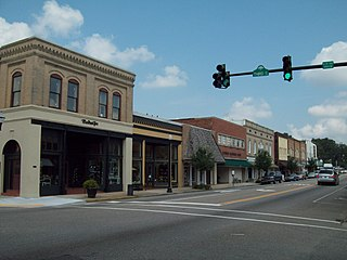Conway Downtown Historic District United States historic place