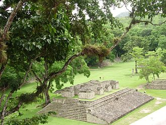 Jungle tourism - Copán in Honduras