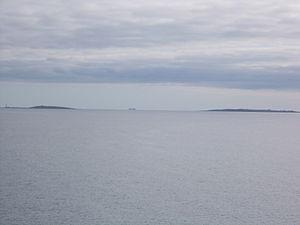 Copeland Islands - The Copeland Islands seen from a Stena Line ferry