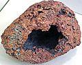 Copper skull (Mesoproterozoic, 1.05-1.06 Ga; Calumet and Hecla Mine, Calumet, Michigan, USA) 6 (17119135697).jpg