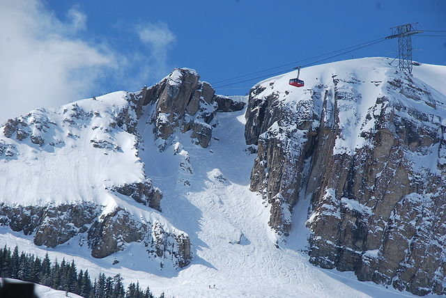 Corbet's Couloir at Jackson Hole Mountain Resort