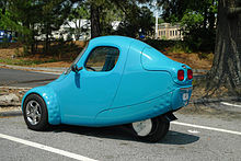 Corbin Motors Sparrow Electric Car