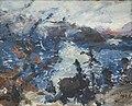 Corinth - Walchensee mit Bergkette in den Wolken PA291344.jpg