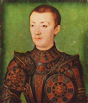Corneille de Lyon - Portrait of Francis III, Duke of Brittany circa 1536