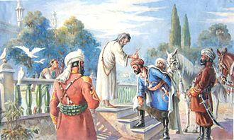 Ahmad Shah Durrani - Coronation of Ahmad Shah Durrani in 1747 by Abdul Ghafoor Breshna.