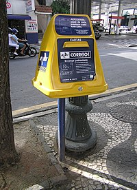 Correio Mailbox in Belo Horizonte, Brasil.jpg