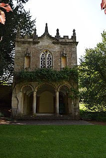 Bath House at Corsham Court