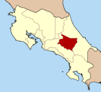 Provinces of Costa Rica - Image: Costa Rica Cartago