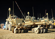 Cougar type JERRVs in Iraq