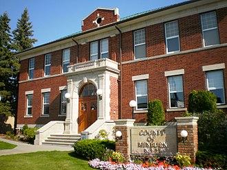 County of Minburn No. 27 - Municipal office in Vegreville