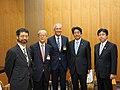 Courtesy Call on Prime Minister Shinzo Abe (34862878342).jpg
