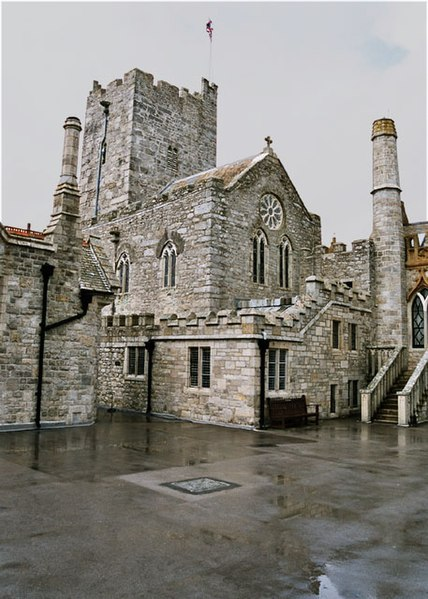 File:Courtyard in St. Michael's Mount - geograph.org.uk - 13471.jpg