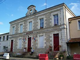 The town hall in Couthures-sur-Garonne