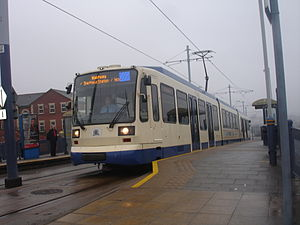 Gleadless Townend - A Supertram at Gleadless Townend.