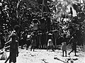 Cremation in New Guinea, by Chinnery, 1930 Wellcome M0005274.jpg