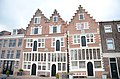 Cropped step gables from some traditional Dutch houses at Hoorn - panoramio.jpg