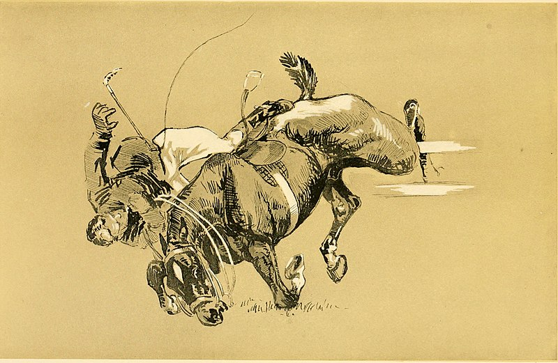 File:Cross country with horse and hound (1902) (14596537038).jpg