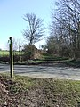 Crossing Dogs Lane - geograph.org.uk - 1741620.jpg