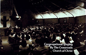 International Churches of Christ - Crossroads Church of Christ in 1967