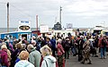 Crowds of tourists at the harbour in Seahouses - geograph.org.uk - 1379440.jpg