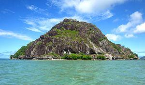 Ra Province - Uninhabited island off the Ra Province coast.