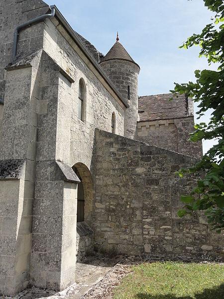 Cuissy-et-Geny (Aisne) église de Geny