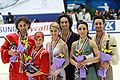 Cup of China 2009 Ice Dancing Podium.jpg