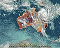 Cyclone Yasi - see how she comes. (Open for animation) (5420955825).jpg