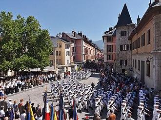 Chasseurs Alpins - 13th Battalion in Chambéry (Savoie)