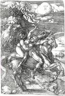 Dürer - Die Entführung auf dem Einhorn - Herzog Anton Ulrich-Museum