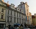 Dům U Modré růže, Praha 1, Rytířská 16, Staré Město.JPG