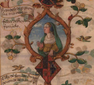 Isabel of Portugal, Lady of Viseu Portuguese noble