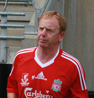 1978 European Super Cup - David Fairclough (pictured in 2008), who scored the last goal in the second leg.