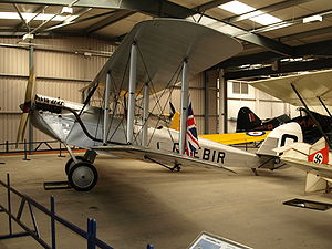 De Havilland DH.51 - Airworthy DH.51, G-EBIR, at the Shuttleworth Collection